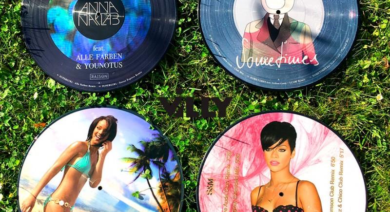 Picture Vinyls Rihanna, Anna Naklab, Alle Farben, Supergirl