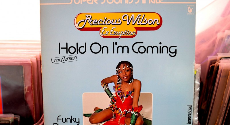 Precious Wilson from Eruption - Hold On I'm Coming