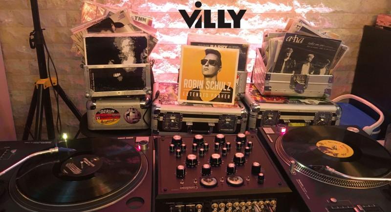 Condesa Carmen, Rotarymixer, Vinyl DJ